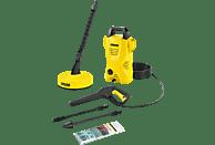 KÄRCHER 1.673-124.0 K2 Compact Home Hochdruckreiniger, Gelb/Schwarz