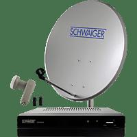 SCHWAIGER SAT2590HD Sat-Anlage (80 cm, Twin-LNB)