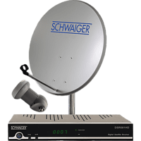 SCHWAIGER SAT591 Sat-Anlage (55 cm, Single-LNB)