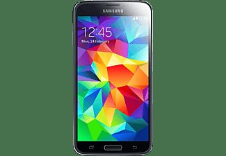 Móvil - Samsung Galaxy S5 Negro Sumergible 16 Megapíxeles