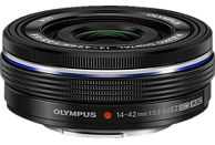 OLYMPUS M.ZUIKO Digital ED 14-42mm F3,5-5,6 14 mm - 42 mm f/3.5 (Weitwinkel), f/5.6 (Tele) ED, MSC (Objektiv für Micro-Four-Thirds, Schwarz)