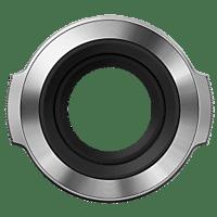 OLYMPUS Objektivdeckel für M.ZUIKO Digital 14-42mm Objektivdeckel, M.ZUIKO DIGITAL 14-42mm 1.3.5-5.6 EZ, Silber