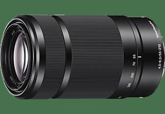 SONY Objektiv E 55-210mm 4.5-6.3 OSS (SEL-55210B), schwarz