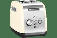 KITCHENAID 5KMT221EAC Toaster Creme (1100 Watt, Schlitze: 2)