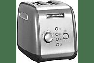 KITCHENAID 5KMT221ECU Toaster Silber (1100 Watt, Schlitze: 2)