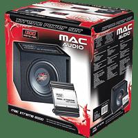 MAC AUDIO Mac Xtreme 2000 Bassreflex-Subwoofer + Verstärker