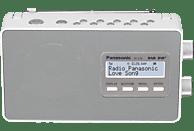 PANASONIC RF-D10 EG-W DAB+ Radio, DAB+ Tuner/ Analog Tuner, DAB, Weiß
