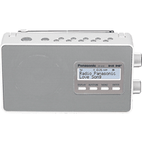 PANASONIC RF-D10 EG-W Digitalradio Digital, Weiß