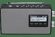 PANASONIC RF-D10 EG-K DAB+ Radio, DAB+ Tuner/ Analog Tuner, DAB, Schwarz