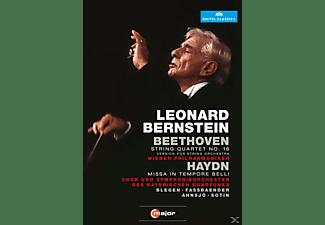 Wiener Philharmoniker - Missa In Tempore Belli/Streichquartett  - (DVD)