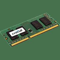 CRUCIAL Sodimm DDR3 Arbeitsspeicher 8 GB DDR3