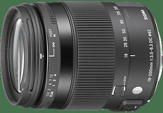 Objetivo - Sigma 18-200 mm f/3.5-6.3 EO DC OS Macro HSM CONTEMPORANY, para Canon