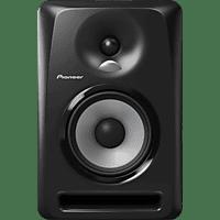 PIONEER S-DJ50X 1 Stück Regallautsprecher (Schwarz)