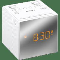 SONY ICF-C1T Radio-Uhr, Analog Tuner, Weiß