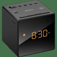 SONY ICF-C1B Radio-Uhr (Analog Tuner, FM, AM, Schwarz)