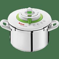 TEFAL P42214 Nutricook Schnellkochtopf (Edelstahl, starker Edelstahl-Kapselboden für perfekte Wärmeleitfähigkeit und gleichmäßiges Garen)