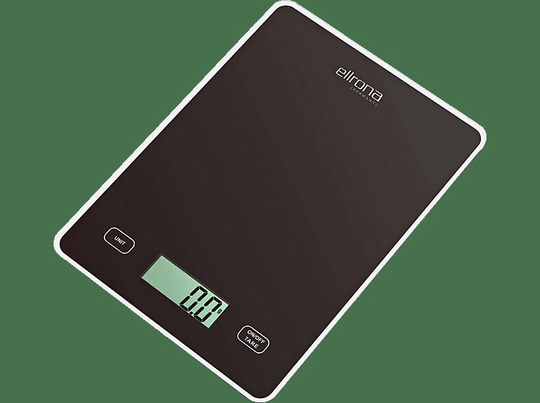 ELLRONA 63210 Küchenwaage (Max. Tragkraft: 5 kg, Standwaage)