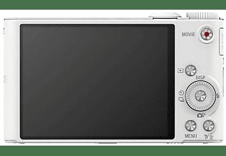 Cámara - Sony DSC-WX350 Blanco, WiFi, NFC, 18.2Mp, zoom óptico 20x