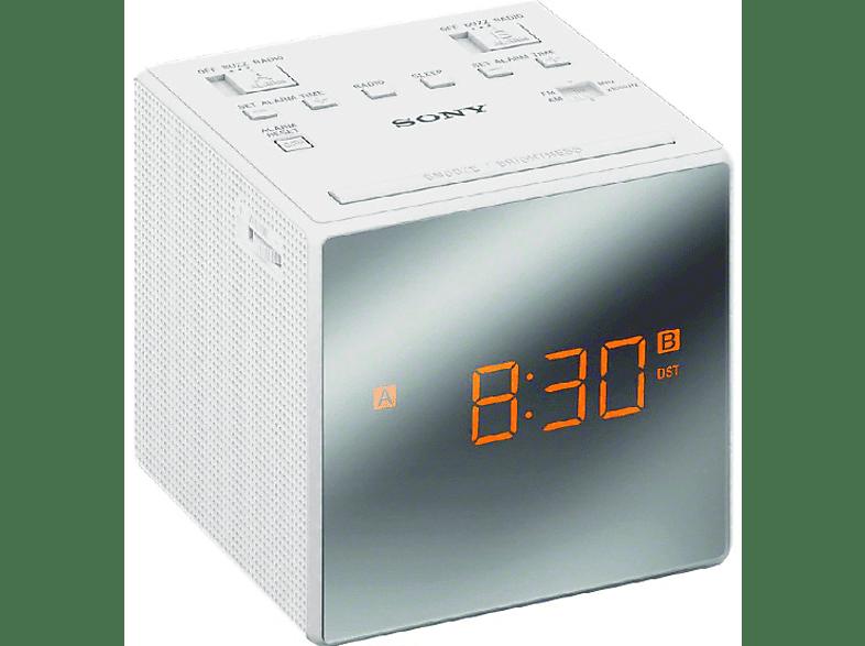 SONY MPE Radio réveil blanc (ICFC1W.CED)