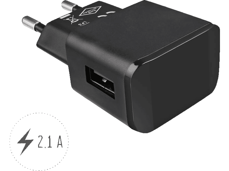 ARTWIZZ 2872-PPM3-B PowerPlug 3 Ladeadapter, Schwarz