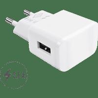 ARTWIZZ 9649-PPM3-W PowerPlug 3 Ladeadapter Universal, 5 Volt, Weiß