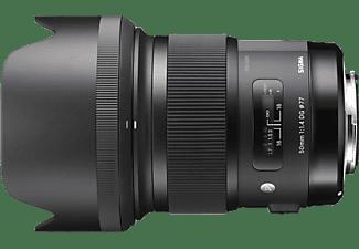 SIGMA 311954 - 50 mm f/1.4 DG, HSM (Objektiv für Canon EF-Mount, Schwarz)