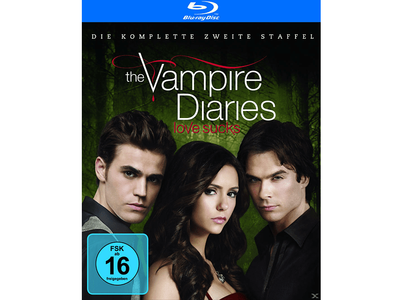 The Vampire Diaries - Die komplette 2. Staffel [Blu-ray]