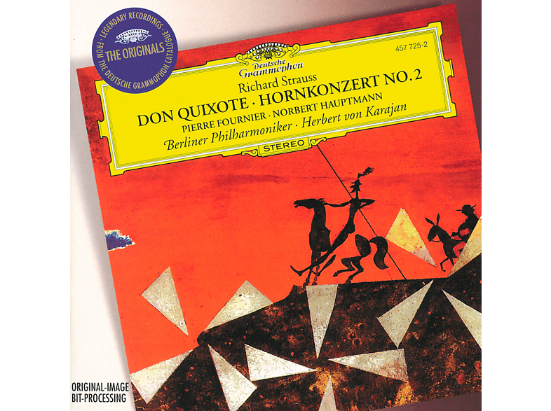 Carl August Nielsen, Fournier/Hauptmann/Karajan/BP - Don Quixote/Hornkonzert 2 [CD]
