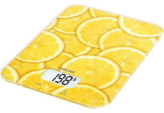 BEURER KS 19 Lemon - Bilancia da cucina digitale (Giallo)