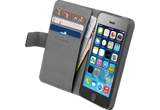 CELLULAR LINE Book Agenda - per iPhone 5/5S - nero - Custodia per smartphone (Adatto per modello: Apple iPhone 5/5S)