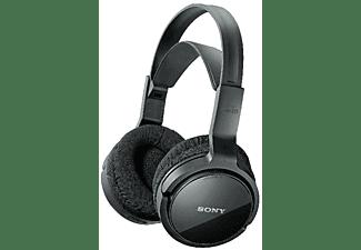 Auriculares inalámbricos - Sony MDR RF 811, Para TV, Radiofrecuencia, Alcance 100m, Autonomía 15h, Negro