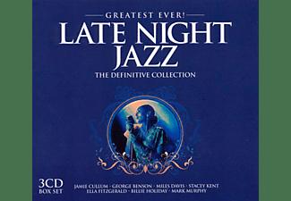 VARIOUS - Late Night Jazz - Greatest Ever  - (CD)