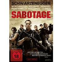 Sabotage (Uncut Version) [DVD]