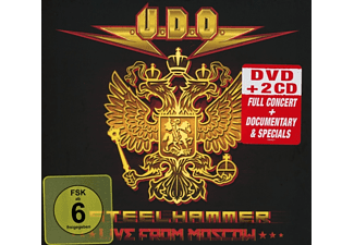 Udo - Steelhammer-Live In Moscow (DVD+2CD Digipak)  - (CD)