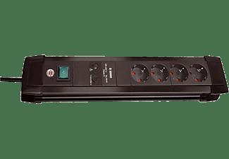 BRENNENSTUHL Steckdosenleiste Premium-Line 4-fach 30.000A Überspannungsschutz 1.8 m, schwarz