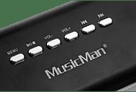 TECHNAXX MusicMan MA Display Soundstation Dockingstation, Schwarz