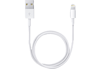 APPLE ME291ZM/A, Lightning Connector auf USB Kabel, Weiß