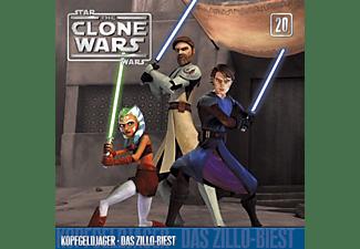 The Clone Wars - 20: Kopfgeldjäger/Das Zillo Biest  - (CD)