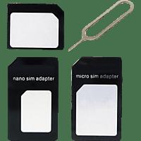 AGM 25131  SIM Karten Adapter Schwarz