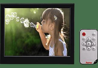 HAMA Digitaler Bilderrahmen Slimline Basic 97SLB mit Fernbedienung, 9.7 Zoll, 150cd, Schwarz