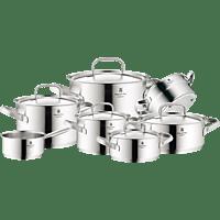 WMF Kochgeschirr-Set 7-teilig Gourmet Plus Topf-Set (Cromargan® Edelstahl rostfrei 18/10)