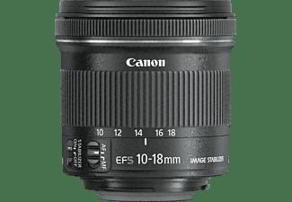 CANON Objektiv EF-S 10-18MM F/4.5-5.6 IS STM + EW73C + LC KIT - Ausstellungsstück