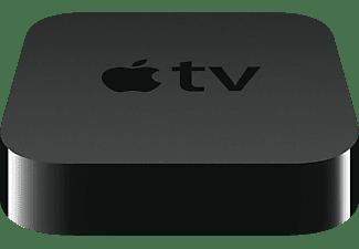 Reproductor multimedia - Apple TV, WiFi, mando a distancia, color negro