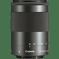 CANON EF-M 55-200mm f/4.5-6.3 IS STM 55 mm-200 mm f/4.5-6.3 IS, STM (Objektiv für Canon EF-Mount, Schwarz)
