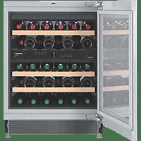 LIEBHERR UWT 1682-20 (Spektrum: A+++ - G) A Weinklimaschrank (137 kWh/Jahr, EEK A, Silber)