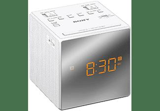 Despertador - Sony ICF-C1TW, Blanco, Alarma Dual