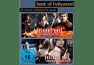 Resident Evil: Degeneration / Resident Evil: Damnation (Best Of Hollywood) Blu-ray