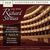 Wiener Philharmoniker, Staatskapelle Dresden, Orchester Der Wiener Staatsoper - Richard Strauss - Complete Recordings Of The Operas Part II [CD]