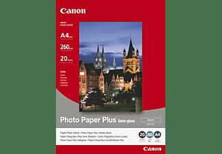 CANON Plus Semi-gloss SG-201 Fotopapier 210 x 297 mm 20 Blatt
