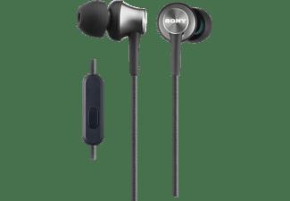 SONY MDR-EX450AP, In-ear Kopfhörer Grau